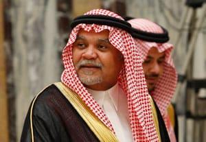 Saudi Prince Bandar bin Sultan seen at his palace in this 2008 photo. (Photo: AP/Hassan Ammar)