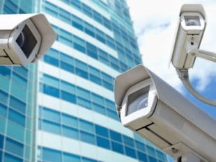 Surveillance cameras. Photo Credit: Shutterstock.com