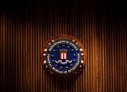 The Federal Bureau of Investigation crest on August 3, 2007 in Washington, DC. (Photo: AFP/File, Mandel Ngan)