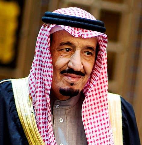 King Salman bin Abdulaziz Al Saud inherited power in 2015.