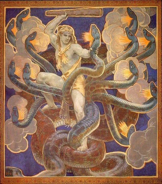 "John Singer Sargent's ""Hercules"" (Image: Wikipedia)"