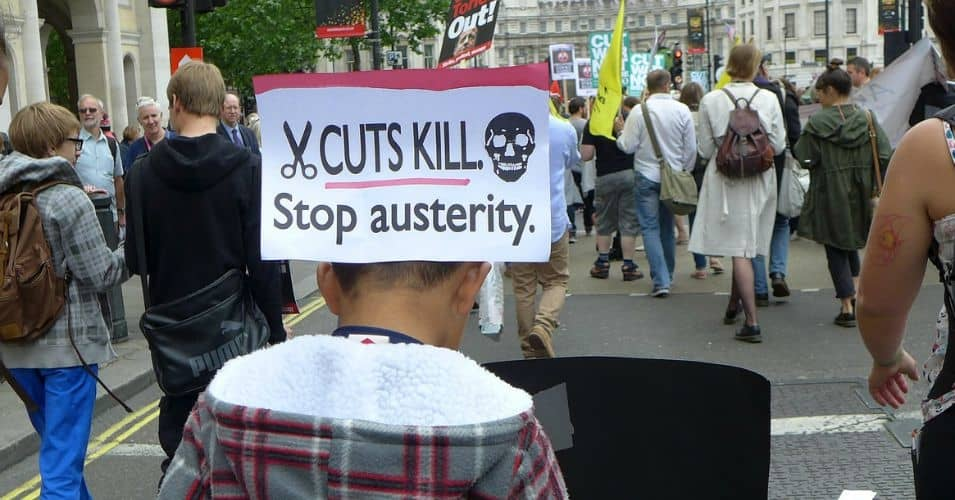A march against austerity in London. (Photo: Paul de Gregorio/flickr/cc)