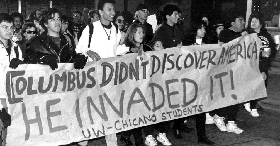 From the very beginning, Columbus was not on a mission of discovery but of conquest and exploitation. It is time to abolish the holiday commemorating his accomplishments. (Photo: University of Wisconsin-Madison)