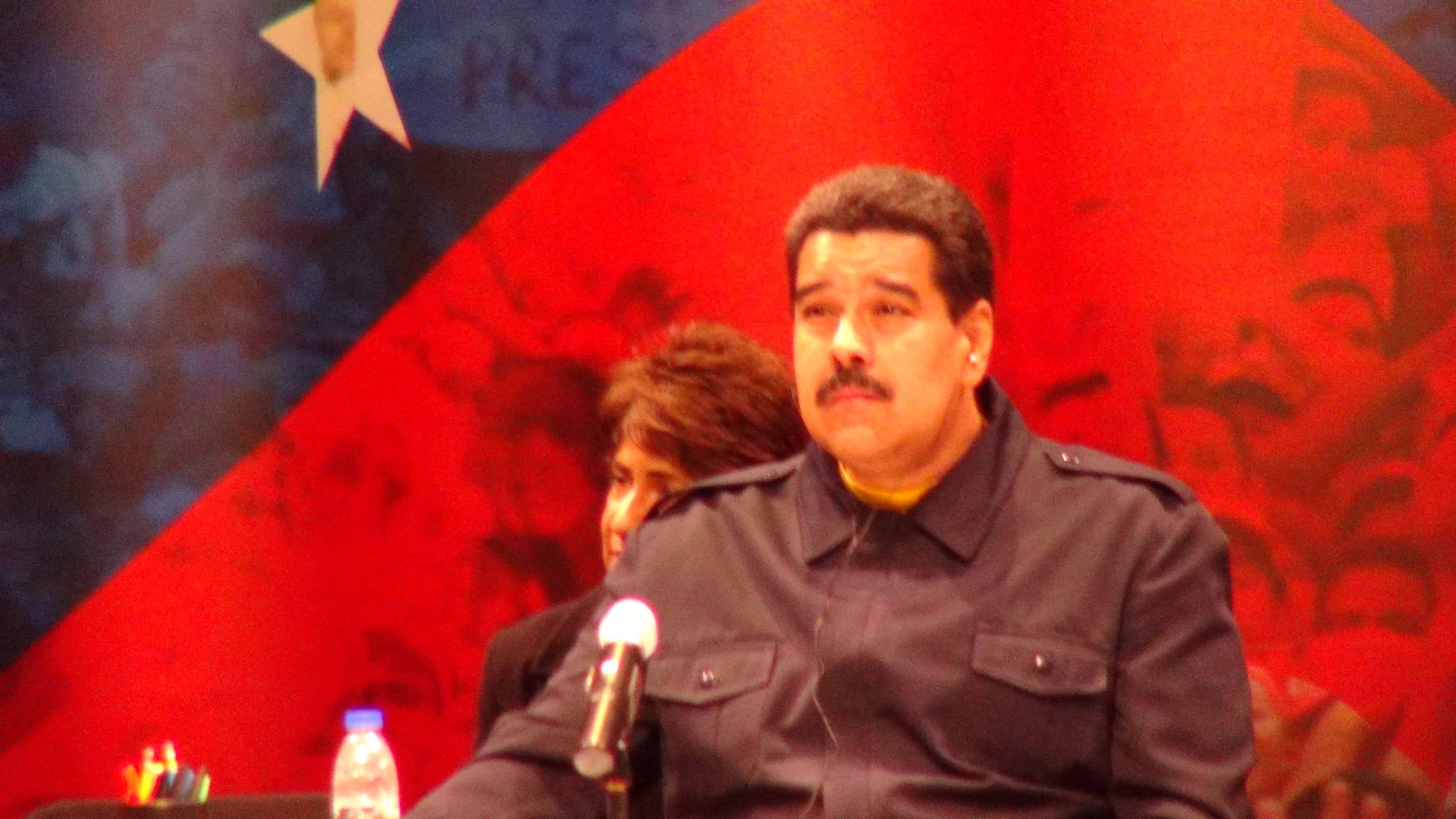 President of Venezuela Nicholas Maduro.