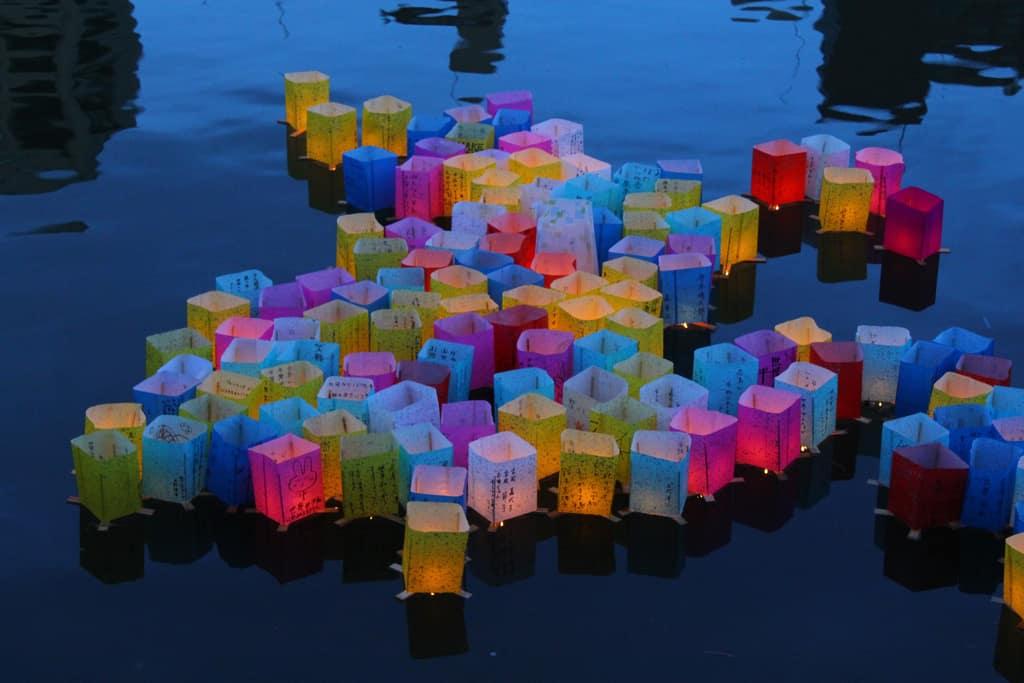 Hiroshima Lantern Festival (Photo: Richard Riley @ flickr/cc)