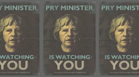 UK Prime Minister Theresa May  Image: Richard Littler @richard_littler / Twitter