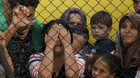 Syrian refugees in Budapest. Photo: Mstyslav Chernov / Wikimedia Commons / CC 4.0