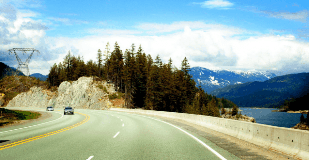 (Photo: The Sea-to-Sky Highway in British Columbia (photo by D. Vincent Alongi)
